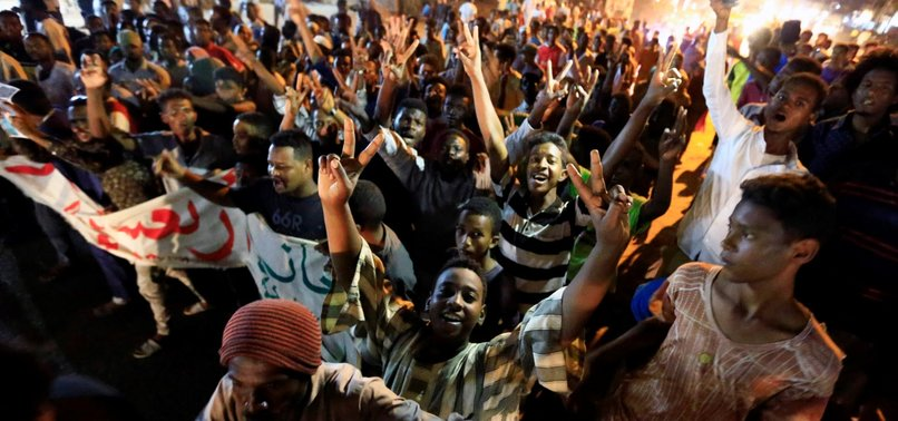 SUDANESE TAKE TO STREETS TO CALL FOR JUSTICE FOR KILLED PROTESTERS