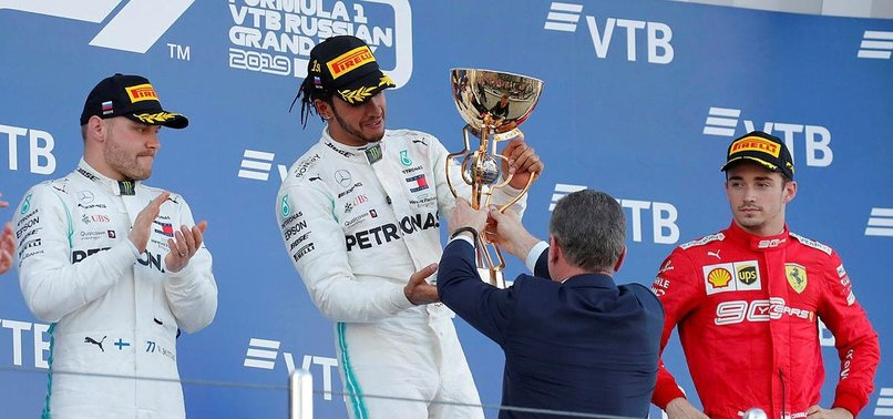 HAMILTON LEADS MERCEDES ONE-TWO FINISH AT RUSSIAN GRAND PRIX