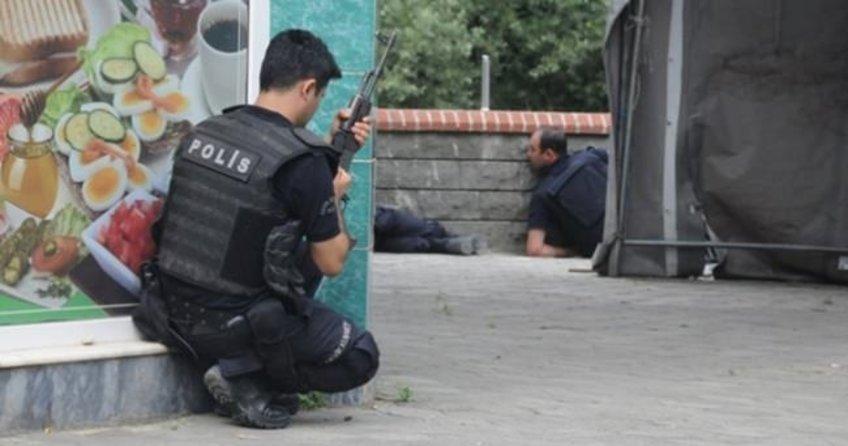 Trabzon Maçka'da çatışma: 1 polis yaralı