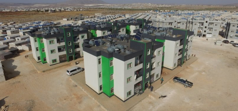 14,000 HOUSES BUILT BY TURKISH AID AGENCY IHH FOR WAR-WEARY SYRIANS IN 2020