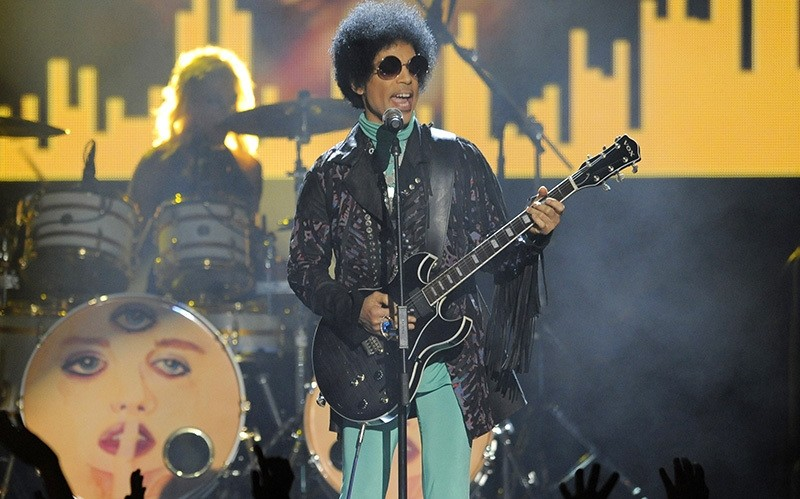 In this May 19, 2013 file photo, Prince performs at the Billboard Music Awards at the MGM Grand Garden Arena in Las Vegas (AP Photo)