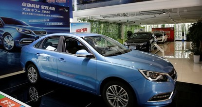More electric cars are sold in China than in the rest of the world combined, but are mainly locally-branded models that are cheaper and have a shorter range than those offered by foreign automakers...
