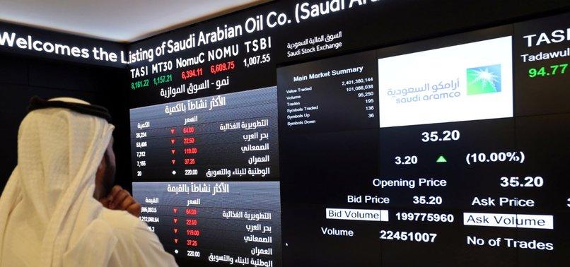SAUDI ARAMCO TOUCHES $2 TRILLION MARKET VALUE