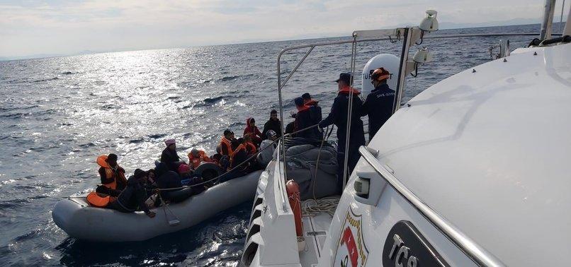 TURKEY RESCUES 34 ASYLUM SEEKERS FROM BOATS IN AEGEAN