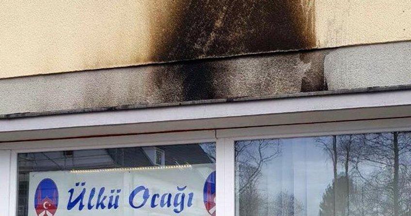 Almanyada Türk Kültür Ocağına molotoflu saldırı