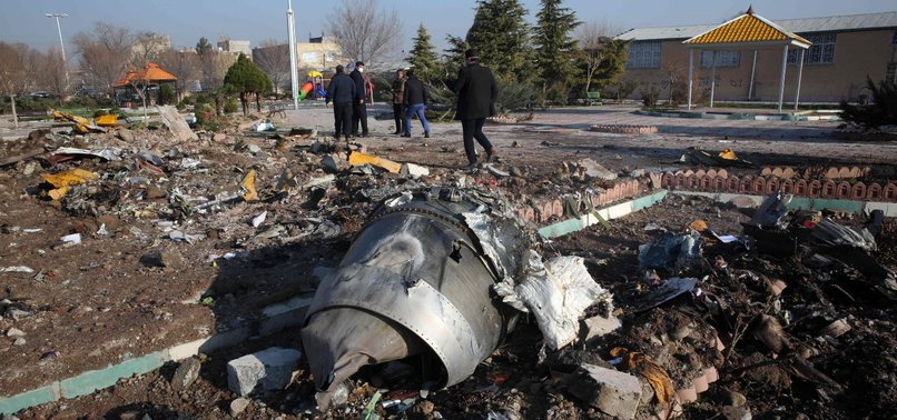 IRAN ARRESTS SUSPECTS IN UKRAINIAN PLANE CRASH