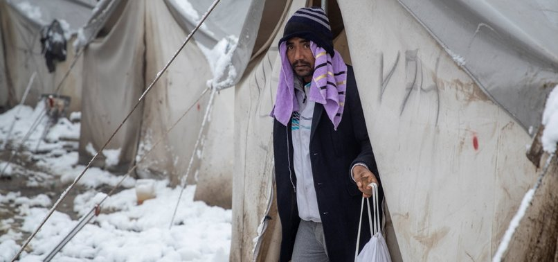 REFUGEES STRUGGLE TO SURVIVE AT EU BORDERS AMID WINTER
