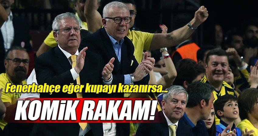 Komik rakam! Fenerbahçe kupayı kazanırsa...