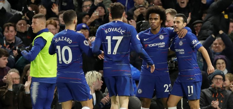 CHELSEA BEAT NEWCASTLE 2-1 TO STAY SAFELY IN TOP FOUR