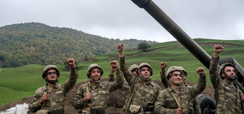 AZERI TROOPS DEAL ONE MORE BLOW ON ARMENIAN OCCUPIERS BY LIBERATING CITY OF ZANGILAN
