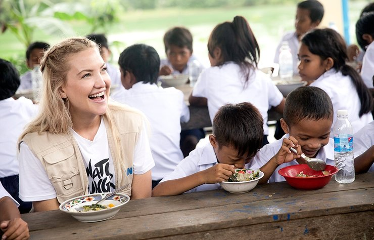 Michael Kors, aktris, yazar, girişimci ve hümanist Kate Hudson, küresel açlıkla mücadele etmek için Michael Kors'un özel kampanyası olan ''Watch Hunger Stop'' u bir kez daha destekliyor.