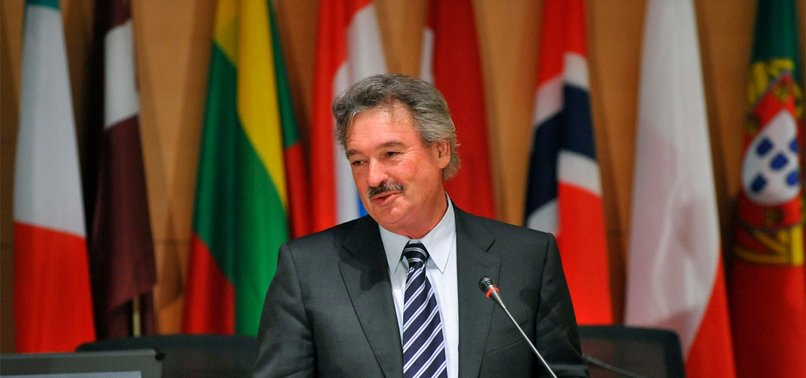 EUROPEAN UNION SHOULD RECOGNIZE A PALESTINIAN STATE: LUXEMBOURG FOREIGN MINISTER JEAN ASSELBORN