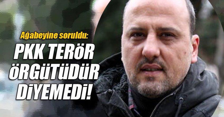 PKK terör örgütüdür diyemedi!