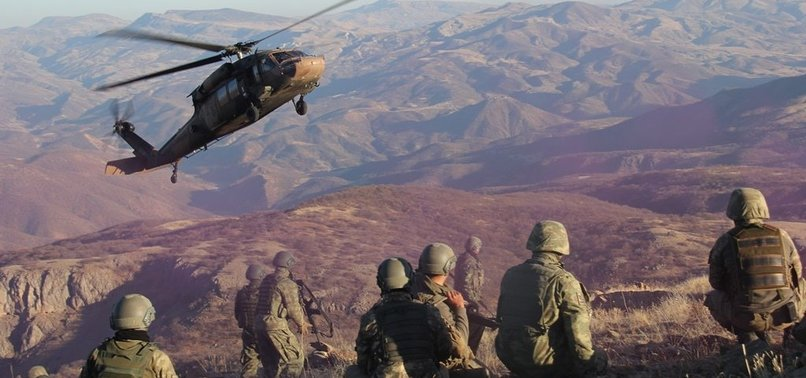 TURKISH SECURITY FORCES NEUTRALIZE 5 PKK TERRORISTS IN EASTERN TURKEY