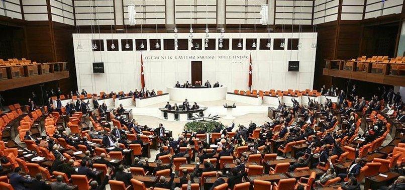 TURKISH PARLIAMENT RATIFIES BILL ON ELECTORAL ALLIANCES