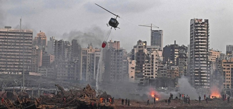 UP TO 300,000 LEFT HOMELESS BY MASSIVE EXPLOSION - BEIRUT GOVERNOR