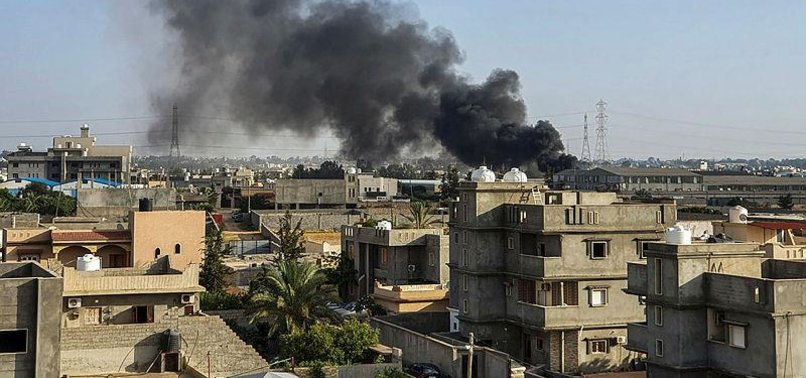 LIBYAN GOVERNMENT: HAFTAR PLANE CRASHES NEAR TRIPOLI