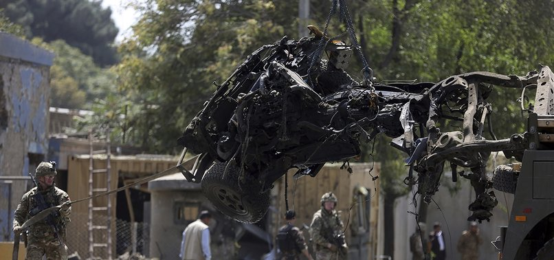 10 CIVILIANS KILLED IN SUICIDE ATTACK NEAR DIPLOMATIC ENCLAVE IN AFGHANISTANS KABUL