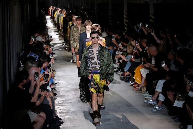 Dries Van Noten İlkbahar/Yaz 2020 Erkek koleksiyonu