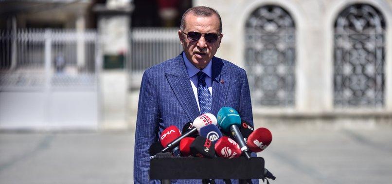 ERDOĞAN SAYS TURKEY RESTARTED DRILLING IN EASTERN MEDITERRANEAN
