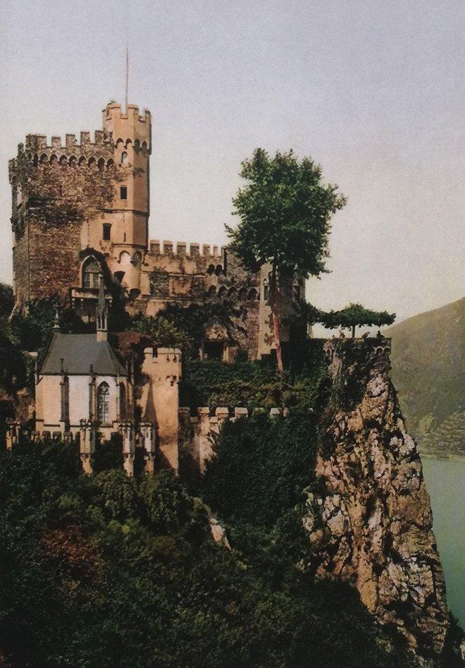 Rheinstein Kalesi, Hessen Eyaleti