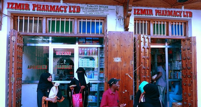 Tanzanian man remembers good times in Turkey at Zanzibar's Izmir Pharmacy