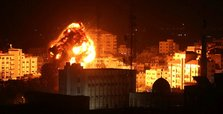 Israel launches Gaza strikes after rocket fire: Palestinians