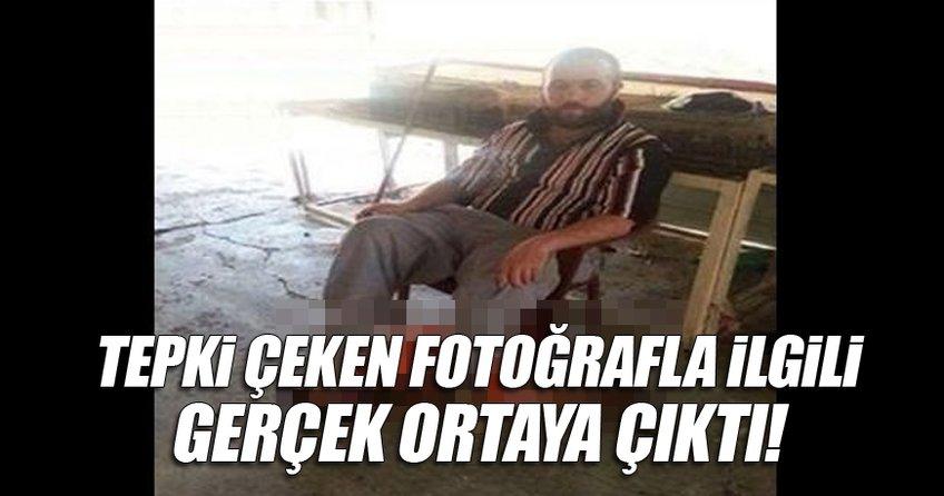 Tepki çeken fotoğraf İzmir'de çekilmemiş