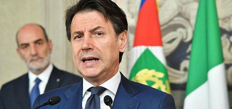 CONTE SAYS HE AIMS TO FORM ITALYS GOVERNMENT BY MID-WEEK