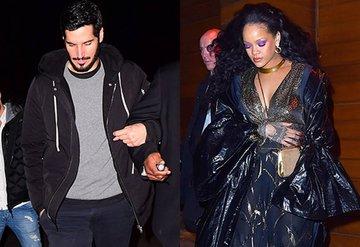 Rihanna ile Suudi sevgilisinin romantik yemeği
