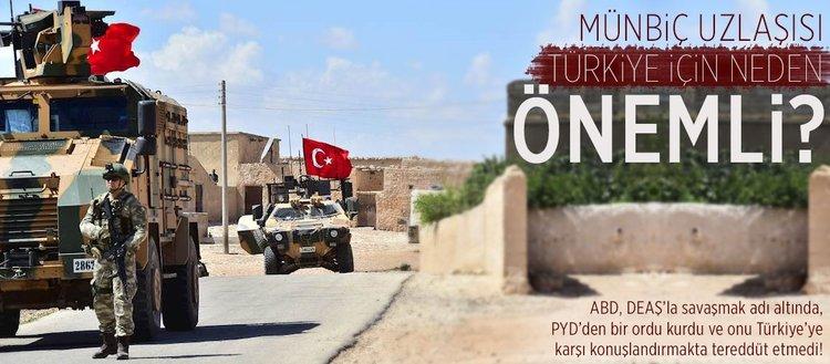 Münbiç uzlaşısı Türkiye için neden önemli?