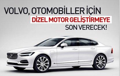 Volvo, otomobiller için dizel motor geliştirmeye son verecek!