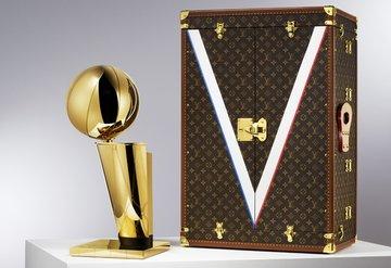 Louis Vuittondan NBA Larry OBrien Kupasına özel çanta!