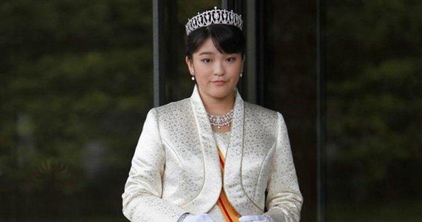 Japon prensesi, aşkı için saraydan vazgeçti