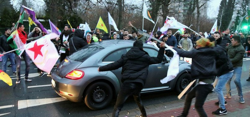 GERMAN POLICE BAN DEMONSTRATIONS ORGANIZED BY PKK SUPPORTERS
