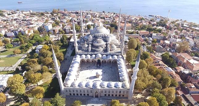 Историческую Голубую Мечеть Стамбула ожидает комплексный ремонт