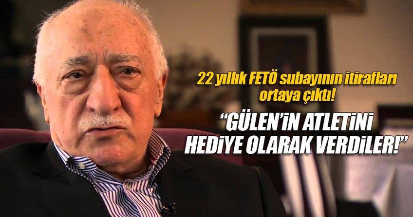 Subaydan FETÖ itirafları: Gülen'in atletini hediye olarak verdiler