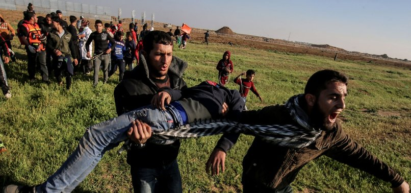 ALMOST 40 PALESTINIAN CHILDREN KILLED BY ISRAELI FORCES IN YEAR OF GAZA BORDER PROTESTS: UNICEF