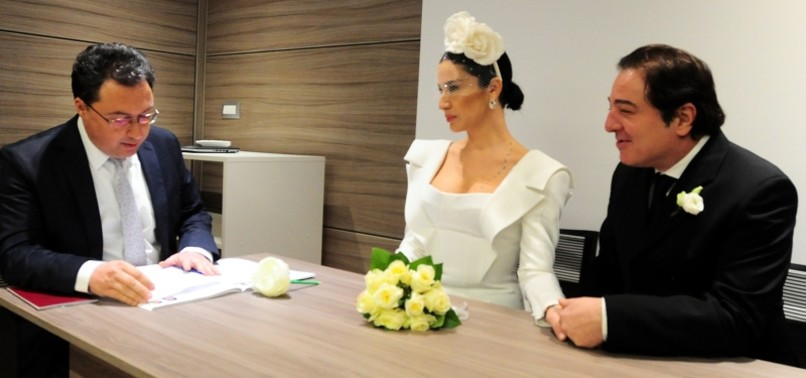 PIANIST FAZIL SAY TIES THE KNOT WITH ECE DAĞISTAN AT TURKISH CONSULATE IN MILAN