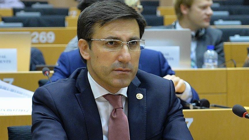 Prof. Talip Ku00fcu00e7u00fckcan, the head of the Turkish delegation at PACE