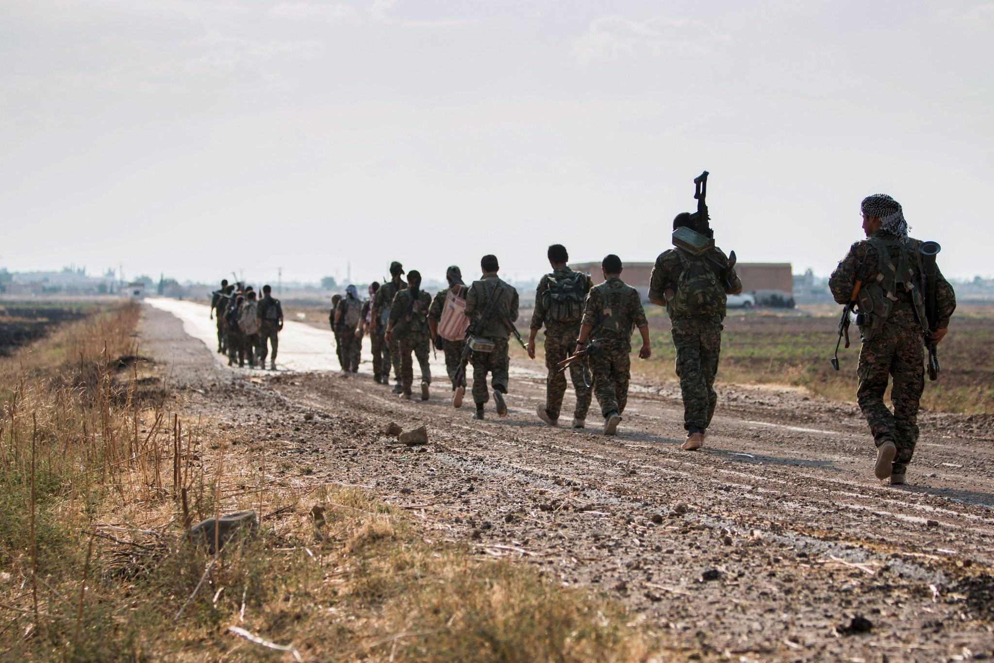 With the capture of Tel Abyad, the YPG and other groups gained control of some 400 km (250 mu0131les) of the Syru0131an-Turkish border. (REUTERS Photo)
