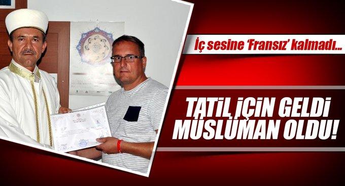 Frederic Bau Müslüman olup Kenan adını aldı