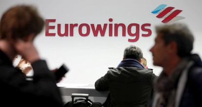 pCabin crew at Lufthansa's budget airlines Germanwings andEurowings will stage a 24-hour strike on Thursday in a dispute over pay and working conditions, the UFO labour union said on...