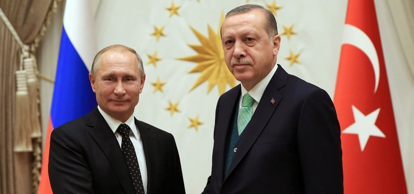TURKISH, RUSSIAN PRESIDENTS TO DISCUSS SYRIA ON TUESDAY