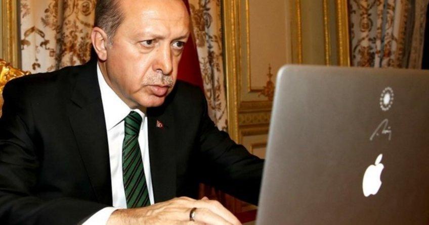 Erdoğan'dan siber suçlarla mücadele talimatı