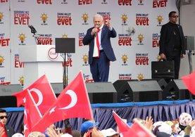 Başbakan Binali Yıldırım: Ayak üstü 40 yalan söylüyor