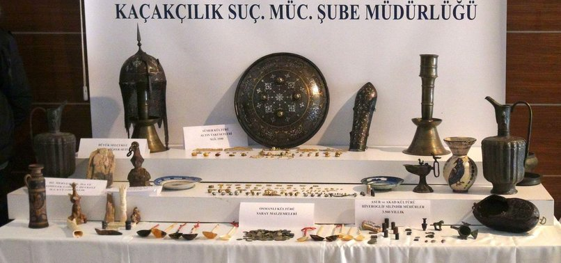 ISTANBUL POLICE DESTROY SMUGGLING RING PLANNING TO SELL ANCIENT SUMERIAN, AKKADIAN ARTIFACTS