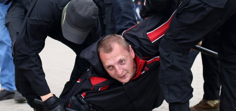 BELARUSIAN POLICE DETAIN AT LEAST 10 PEOPLE AT OPPOSITION RALLY -IFX