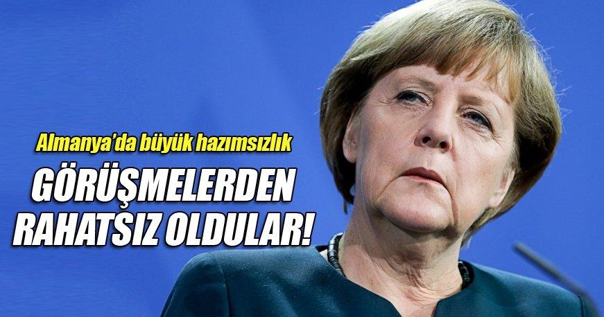 Almanya Astana görüşmelerinden rahatsız oldu