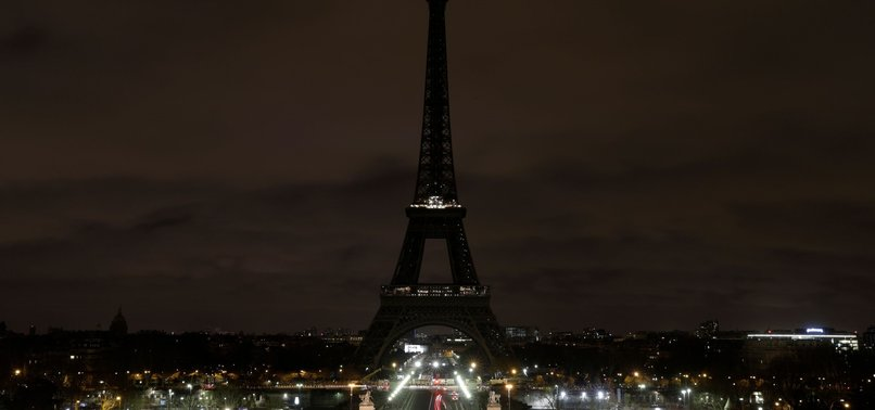 EIFFEL TOWER GOES DARK FOR NEW ZEALAND ATTACK
